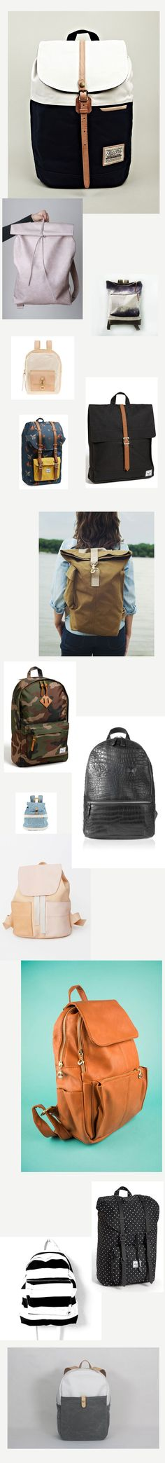 Travel in Style: Backpacks by The Wanderlove Collective Travel Backpack, Travel Style, Travel Inspiration, Collage, Backpacks, Creative, Bags, Collection, Tejidos
