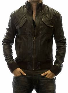 Men's leather biker jackets are great confidence providing outfit. Leather biker jackets have their own unique styling and perfect for making daring and stylish statements both. These jackets come in various styles, colours and designs that help to enjoy bold and unique look.