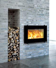 HWAM wood burning fireplace