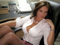Give her a raise if she agrees to wear a garter belt and stockings and heels to the office every day! Description from pinterest.com. I searched for this on bing.com/images