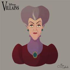 Personagens Disney em retratos | Just Lia
