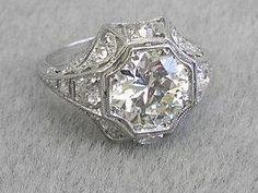 Trendy Diamond Rings :    antique edwardian ring  - #Rings https://youfashion.net/wedding/rings/diamond-rings-antique-edwardian-ring/