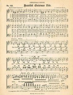 Free Christmas Music Page Printables Christmas Images, Christmas Carol, Christmas Projects, Vintage Christmas, Christmas Crafts, Christmas Decorations, Christmas Journal, Christmas Pops, Christmas Tree