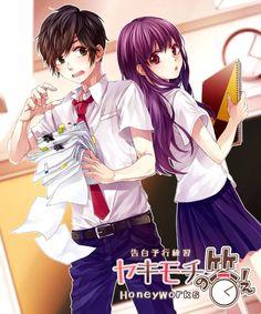Image about honeyworks in Zutto Mae Kara Suki Deshita. Kokuhaku jikkou linkai by alex boom Manga Couple, Anime Love Couple, Cute Anime Couples, I Love Anime, Vocaloid, M Anime, Anime Kawaii, Koi, Zutto Mae Kara