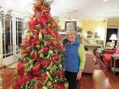 """deco mesh wreaths fall   Deco Mesh"""" (Christmas Tree)"""