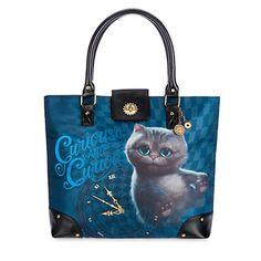 Disney-Alice-in-wonderland-Cheshire-Cat-Tote-Purse-Handbag-Alice-Through-the-Looking-Glass-0
