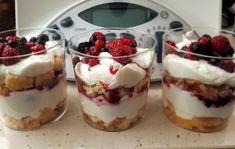 postre en vasitos Pudding, Desserts, Food, Life, Gastronomia, Juices, Food Recipes, Pancake, Cake