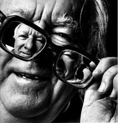 Ray Bradbury. Portrait by Michel Fainsilber