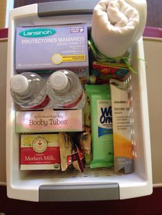 Breast feeding support basket for expecting moms