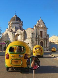 Taxis (Huevitos) how people call them, Havana, Cuba