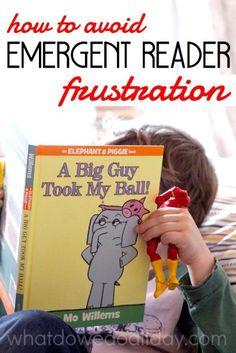 Learning to read. Parent tips for avoiding the early reading frustrations.