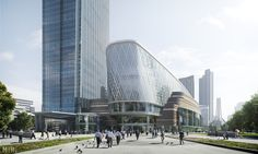Aedas_Wuhan_The Queen_copyright www.mir.no | Explore medvepo… | Flickr - Photo Sharing!