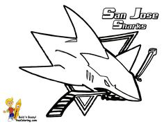San Jose Sharks Coloring Page. Check out the other NHL coloring pages. You Can Print Out This #Hockey #Coloring-Page Now... http://www.yescoloring.com/images/25_San_Jose_Sharks_hockey_at_coloring-pages-book-for-kids-boys.gif