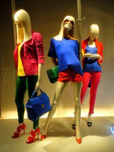 """Zara, """"color block"""", pinned by Ton van der Veer"""