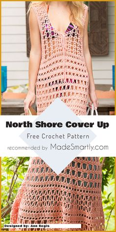 North Shore Cover Up - Free Crochet Pattern