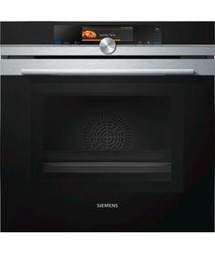 Siemens Kompaktbackofen mit Mikrowelle iQ700 CM836GPS1 Edelstahl