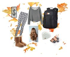 """Cold & Cozy"" by kawright73 ❤ liked on Polyvore featuring Dakine, UGG Australia, RVCA, Coal, CellPowerCases and alfa.K"