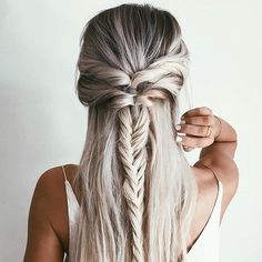 CLICK HERE http://www.youtube.com/channel/UCqEqHuax3qm6eGA6K06_MmQ?sub_confirmation=1 Summer hair goals  #hairspo #love #summer ( @emilyrosehannon) #regram by boohoo