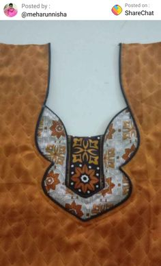 Chudithar Neck Designs, Salwar Neck Designs, Churidar Designs, Neck Designs For Suits, Kurta Neck Design, Neckline Designs, Dress Neck Designs, Fancy Blouse Designs, Gold Flower Girl Dresses