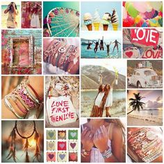 Zomerse collage.