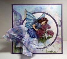 Fairy Flowers by dini - Cards and Paper Crafts at Splitcoaststampers