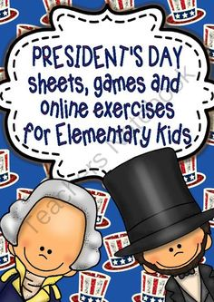 Abraham Lincoln Birthday is comming and a giveaway is here!!! Enter for your chance to win 1 of 3.  Presidents Day Unit Study/Sheets, Online Games and Activities Elementary level (30 pages) from magischool on TeachersNotebook.com (Ends on on 2-10-2014)  Don't miss this giveaway promotion for President's day!!! 3 winners will be the luckiest people!
