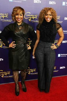 Mary Mary Gospel Group | ... Franklin and Mary Mary To Host 2013 Stellar Awards | I Choose Gospel Dope Swag Outfits, Cute Outfits, World Of Fashion, Girl Fashion, Fashion Outfits, Celebrity Red Carpet, Celebrity Style, Beautiful Black Women, Beautiful People