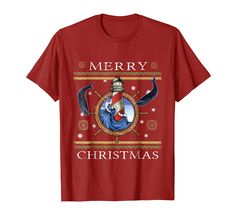 Amazon.com: Ugly Christmas Style T-Shirt | Lighthouse and Whales: Clothing Christmas Books, Christmas Music, Christmas Shopping, All Things Christmas, Vintage Christmas, Christmas Ideas, Christmas Gifts, Christmas Tee Shirts, Ugly Christmas Sweater