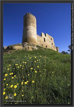 Castello di Mazzarino , caltanissetta Sicily