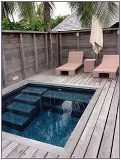 51 Refreshing Plunge Pool Design Ideas for you to Consider – GODIYGO.COM 51 Refreshing Plunge Pool Design Ideas for you to Consider – GODIYGO.COM,House, Garden, Pool Related posts:Black modern garage door with windows Small Inground Pool, Small Swimming Pools, Small Backyard Pools, Swimming Pools Backyard, Swimming Pool Designs, Garden Pool, Pool Landscaping, Indoor Pools, Lap Pools