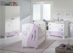 Babyzimmer Set hell lila