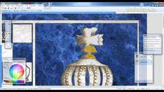 Имитация каменной инкрустации в Paint.Net-2