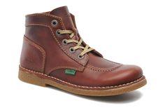 Kickers Legendiknew (Marron) - Chaussures à lacets chez Sarenza (216821)