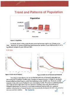 case study human population growth