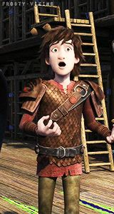Hiccup has the best expressions! XD