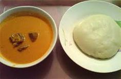 Fufu African food