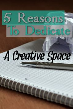 If you're having trouble finding your creativity, you might just need a Creative Space.  Learn how to dedicate a creative space and boost your productivity and more!