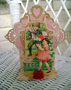 Antique German Valentine.
