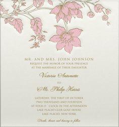 Magnolia Canopy - Wedding cards
