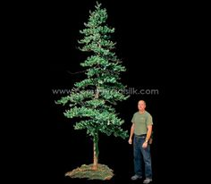 Artificial Spruce Tree - Colorado Spruce - Commercial Silk Int'l