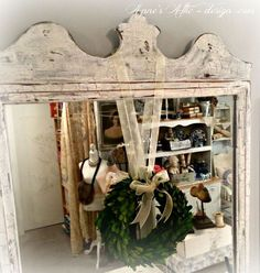 Distressing a Mirror to Look Aged