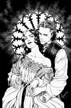 Lucille and Thomas by rerekina on DeviantArt 7 Arts, Character Art, Character Design, Crimson Peak, Fan Art, Film Serie, Art Reference, Fantasy Art, Concept Art