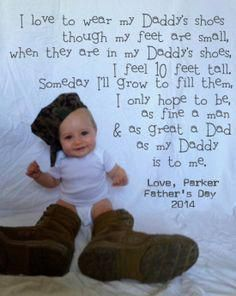 DIY USMC Father's Day Photo Gift! Use your hubby's shoes and recreate this gift … – Father's Day Ideas – photos Fathers Day Photo, First Fathers Day Gifts, Fathers Day Quotes, Fathers Day Crafts, Daddy Gifts, Cool Fathers Day Ideas, Fathers Day Pictures, Daddy Day, Good Daddy