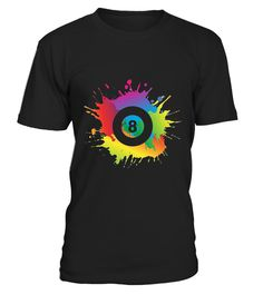 """# Billiards Colorful Art T-shirt .  100% Printed in the U.S.A - Ship Worldwide*HOW TO ORDER?1. Select style and color2. Click """"Buy it Now""""3. Select size and quantity4. Enter shipping and billing information5. Done! Simple as that!!!Tag: billiards shirt, Best pool players, pool player. pool lover or billiards lover, snooker lovers, 8 Ball, 9 Ball, 10 Ball, Snooker, Carom, Player, Pooler, Bipooler, Tripooler, Cue, Chalk, Balls, Table, Rack"""