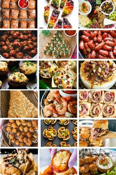 Sixty of the most amazing Christmas appetizer recipes, everything from dips to hot appetizers to cheese boards and more!Christmas appetizer recipes do not have Christmas Eve Appetizers, Christmas Party Food, Xmas Food, Christmas Cooking, Appetizers For Party, Appetizer Recipes, Italian Appetizers, Party Nibbles, Christmas Dinner Menu