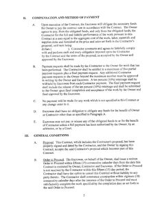 Construction Contract Template  Construction Contract Template