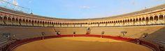 fuentes taurinas | Plaza de Toros de la Real Maestranza de Sevilla (Fuente:Wikipedia)