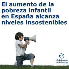 El aumento de la pobreza infantil en España alcanza niveles insostenibles - Día Internacional para la Erradicación de la Pobreza