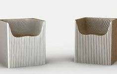 corrugated chair - Google Search