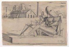 Giorgio de Chirico,Solitude,1917